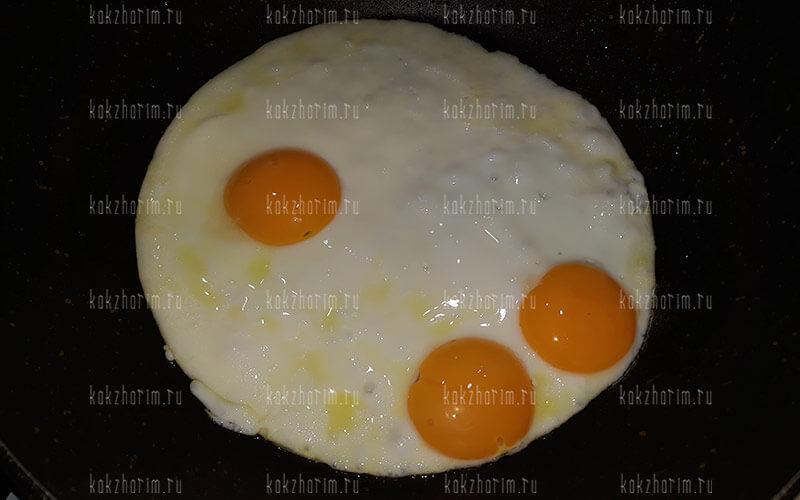 Фото 8 как жарить яйца